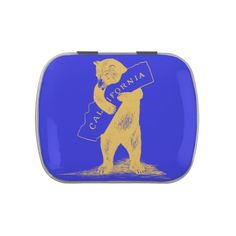 I Love You California--Blue and Gold Jelly Belly Tin