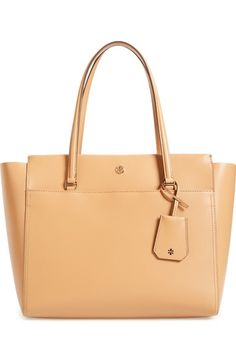 Tory Burch Parker Leather Tote available at #Nordstrom