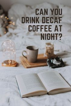 I used to indulge in evening coffee, especially after dinner, even if it cost me a few hours of sleep. Recently, I decided to switch to decaf to cut down on all that caffeine. I began to wonder if it's ok to drink decaf coffee at night or in the evening since it had so little caffeine. Seemingly, I wasn't losing any sleep since I started drinking decaf, but I wanted to do some research to find out more. #coffee How To Get Rich, How To Find Out, Infusion Bio, Study Break, Decaf Coffee, Coffee Accessories, Nutrition, Fresh Coffee, Black Coffee