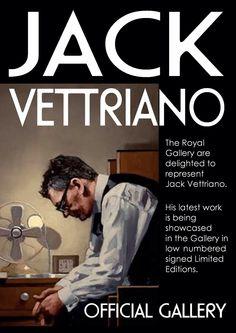 Jack Vettriano at The Royal Gallery