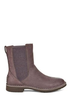 8a543a55330 Larra Nubuck UGGpure(TM) Lined Ankle Boot Leather Chelsea Boots