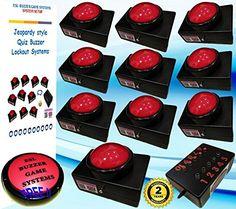 6 Player Slam Buzzer Quiz System Free Shipping Esl
