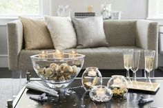 Collection Clearly Partylite https://Sylviebarale.Partylite.fr