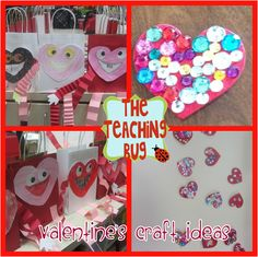 Valentine's Day Craft as seen on First Grade Faculty  www.firstgradefaculty.com