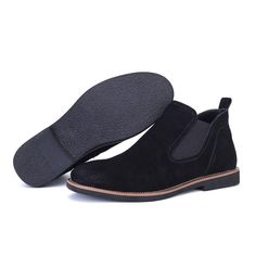 Now in our store: Suede Leather Win... Check it out here!http://simplysonya731.net/products/suede-leather-winter-mens-boots?utm_campaign=social_autopilot&utm_source=pin&utm_medium=pin