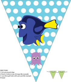 Banner, Finding Nemo, Party Decorations - Free Printable
