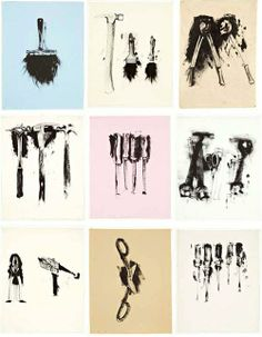Jim Dine- united tools