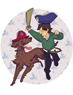 [Ahoy Redbeard!] So what did Sherlock see in... - we are what we do, and I am drawing.