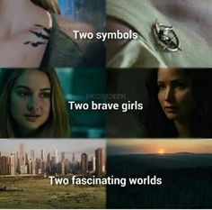 Divergent and the Hunger Games   Tris Prior   Katniss Everdeen
