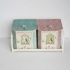 Storage tins by maamoon--love these!