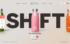 CPJ Cold Pressed Juice on Behance