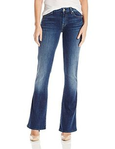 7 For All Mankind Women's Tailorless a Pocket Jean in High Street (Short Inseam) - http://www.darrenblogs.com/2016/12/7-for-all-mankind-womens-tailorless-a-pocket-jean-in-high-street-short-inseam/