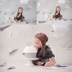 2 year cake smash planes - Google Search