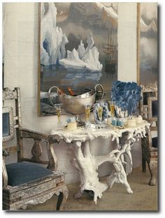 Interior design by Richard Keith Langham. Photograph by Francesco Lagnese.