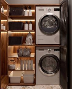 Laundry Room Design, Home Room Design, Dream Home Design, Bathroom Interior Design, House Design, Interior Modern, My Dream Home, Modern Laundry Rooms, Laundry Room Layouts