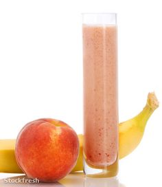 stockfresh 1060527 peach-smoothie sizeM Healthy Life, Smoothie, Mango, Peach, Fruit, House, Ideas, Food, Healthy Living