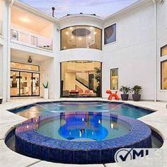 Courtyard Pool. 5119 Burkett Dr, Frisco, TX 75034 | Zillow