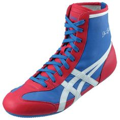 hot sale online f00bb 3a376 Royal Scarlet White ASICS The Gable™ Wrestling Shoes Wrestling Clothes, Wrestling  Shoes