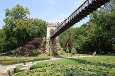 Flying Bridge in Nicolae Romanescu Park, Craiova Visit Romania, Countries Of The World, See It, Travel Photos, Netherlands, Places To Go, Sidewalk, Mexico, Around The Worlds