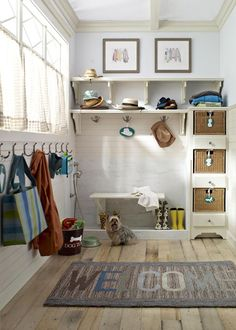 Why every house in Mihigan doesn't have a mud room is beyond me. I know I need one and now I know what I want it to look like.
