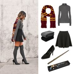Harry Potter Costume - My Everyday Lifestyle - Harry Potter Kostüm, Harry Potter Dress, Harry Potter Cosplay, Harry Potter Outfits, Hermione Granger Costume, Harry Potter Makeup, Harry Harry, Harry Potter Halloween Costumes, Halloween Outfits