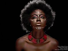 black afro woman tattoo - Google Search