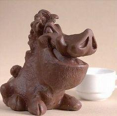 Sweet Chocolate Sculptures : Art and Design Chocolate Week, Divine Chocolate, Chocolate World, Chocolate Heaven, Chocolate Art, Chocolate Shop, Chocolate Factory, Chocolate Lovers, Chocolate Showpiece