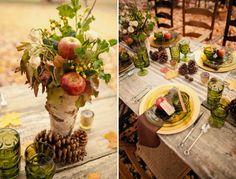 Raina Dawn Events| Newport Wedding Planner | Newport RI Wedding Planning | NY & DC Planner: Inspired by...Pine Cones