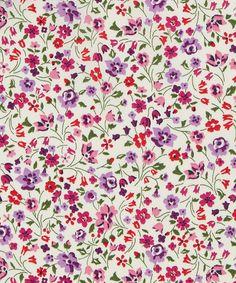 Liberty Art Fabrics Kimberly Sarah B Tana Lawn Cotton Cool Patterns, Flower Patterns, Print Patterns, Textile Prints, Textile Design, Motif Floral, Floral Prints, Gift Voucher Design, Liberty Art Fabrics