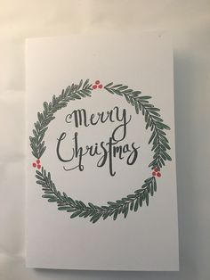 Christmas Cards, Xmas, Cards Diy, Card Designs, Homemade Cards, Hand Drawn, Card Ideas, How To Draw Hands, Dangles