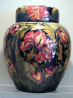 William Moorcroft Vase (c. 1915 England)