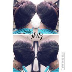 Full Quickweave Layer Bob...#HairbySkilz