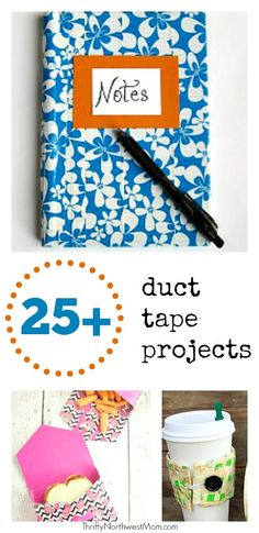 Here's a list of 25+ DIY Duct Tape Projects to turn your project into a unique creation at a fraction of the cost.