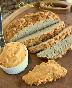 Easy beer bread and spreadable beer cheese feat. Shiner Black Lager and Lone Star
