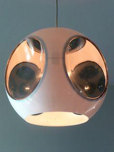 Vintage 1970s UFO Lamp Panton Eames Space Age 60s 50s Era