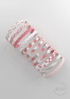 bead weaving patterns for bracelets Loom Bracelet Patterns, Bead Loom Bracelets, Bracelet Crafts, Bead Loom Patterns, Beaded Jewelry Patterns, Peyote Patterns, Beading Patterns, Beading Tutorials, Diy Bracelet