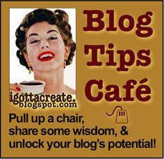 lots and lots of blog tips (link party)