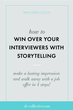 How to win over your interviewers and get a job offer using storytelling Second Interview Questions, Best Interview Tips, Skype Interview, Job Interview Preparation, Interview Coaching, Interview Questions And Answers, Job Interviews, Career Advice, Career Success