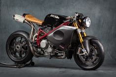"Racing Cafè: Ducati 1098 R ""Flash Back America"" by MrMartini"