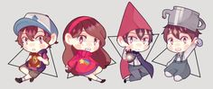 Gravity Falls and Over the Garden Wall by BottleWonderland on @DeviantArt