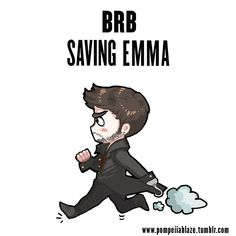 BRB -- saving emma by pompeii-ablaze.deviantart.com on @DeviantArt