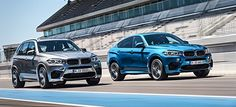 The new BMW X5M and X6M