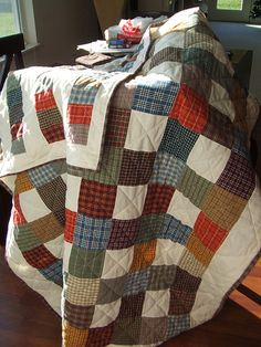 another great plaid quilt