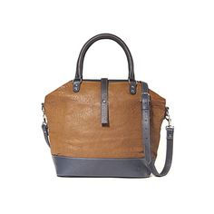 Gorgeous cognac and navy leathers...very versatile! Too bad it costs $357!
