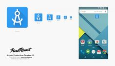 Android Product Icon Template 2.0