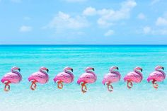 26 inch Large Flamingo Foil Balloon for summer party
