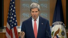 Kerry warns Russia that the 'window to change course is closing'.  Putin must have wet his pants.