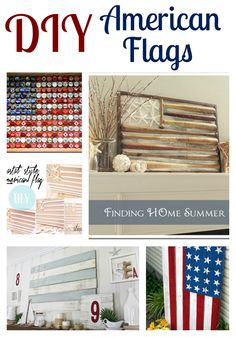DIY American Flags! Happy Memorial Day!