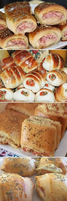 Mexican Food Recipes, Sweet Recipes, Ethnic Recipes, Pan Dulce, Bread Bowls, Appetizers For Party, Tapas, Finger Foods, Brunch