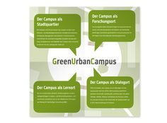 Uni Duisburg Green Urban Campus Flyer